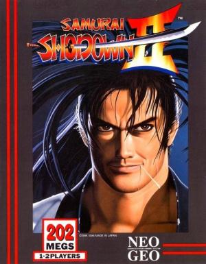 Samurai Shodown II sur NEO