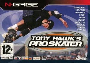 Tony Hawk's Pro Skater sur NGAGE