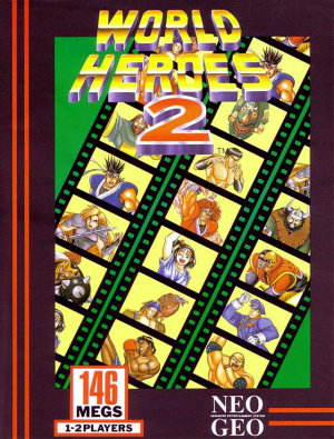 World Heroes 2 sur NEO