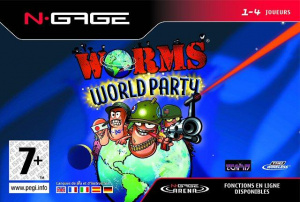 Worms World Party sur NGAGE