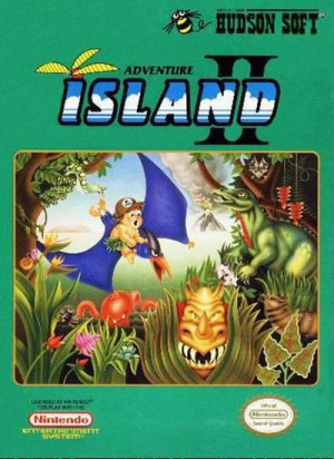 Adventure Island II : Aliens in Paradise sur Nes