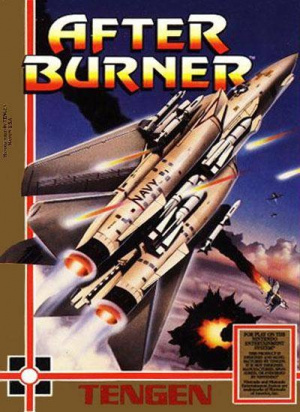 After Burner sur Nes