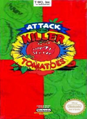 Attack of the Killer Tomatoes sur Nes