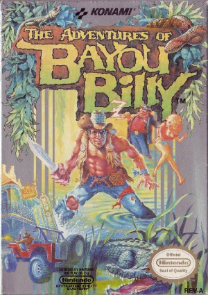 The Adventures of Bayou Billy sur Nes
