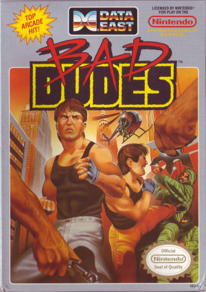Bad Dudes vs Dragon Ninja sur Nes