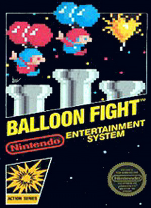 Balloon Fight sur Nes