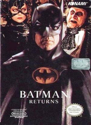 Batman Returns sur Nes