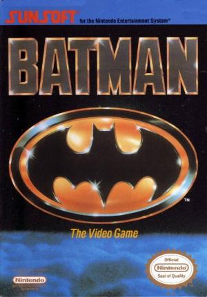 Batman : The Video Game sur Nes