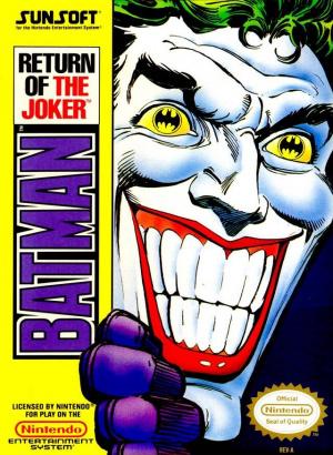 Batman : Return of the Joker sur Nes