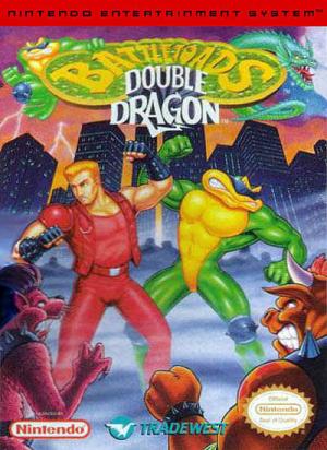 Battletoads Double Dragon sur Nes