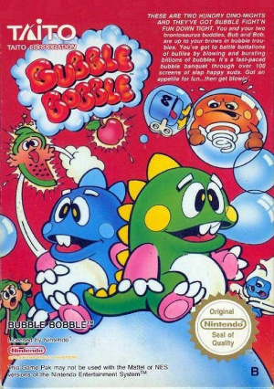 Bubble Bobble sur Nes