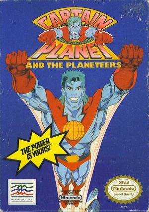Captain Planet and the Planeteers sur Nes