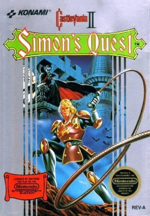 Castlevania II : Simon's Quest sur Nes