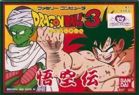 Dragon Ball 3 : Gokuuden sur Nes
