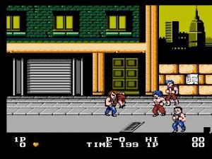 1987 - Double Dragon : Deux guerriers, de multiples possibilités