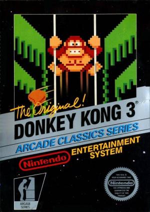 Donkey Kong 3 sur Nes
