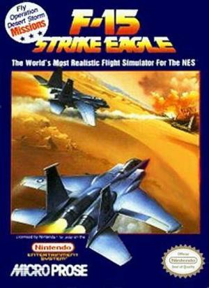 F-15 Strike Eagle sur Nes