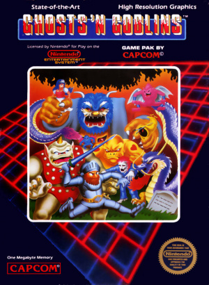 Ghosts'n Goblins sur Nes