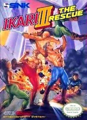 Ikari III : The Rescue sur Nes