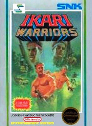 Ikari Warriors sur Nes