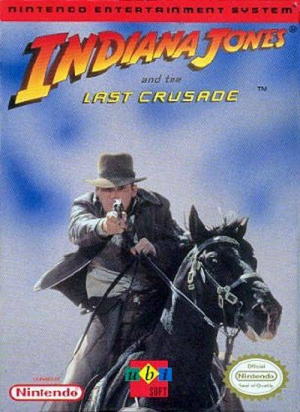 Indiana Jones and the Last Crusade : The Action Game sur Nes