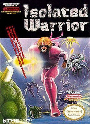 Isolated Warrior sur Nes
