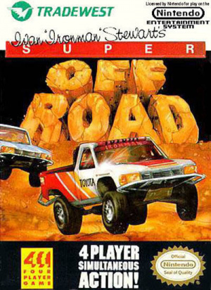Super Off Road sur Nes