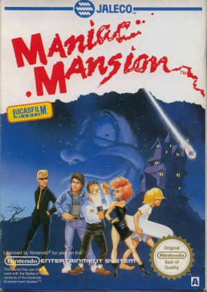 Maniac Mansion sur Nes