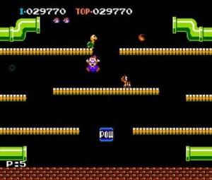 Mario Bros, changement de métier