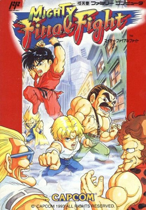 Mighty Final Fight sur Nes