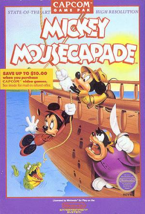 Mickey Mousecapade sur Nes