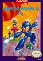 Mega Man 4 sur Nes