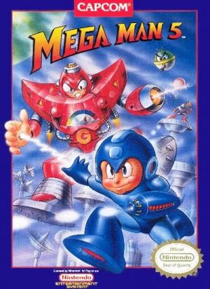 Mega Man 5 sur Nes