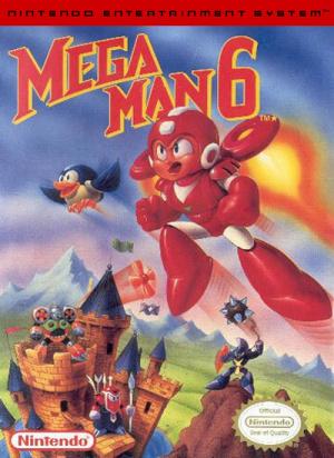 Mega Man 6 sur Nes