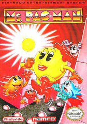 Ms. Pac-Man sur Nes