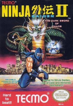 Shadow Warriors II : The Dark Sword of Chaos sur Nes
