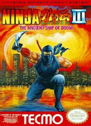 Ninja Gaiden III : The Ancient Ship of Doom sur Nes