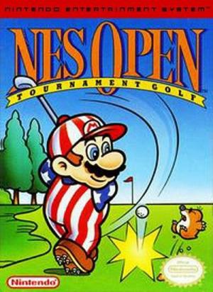 NES Open Tournament Golf sur Nes