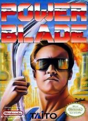 Power Blade sur Nes