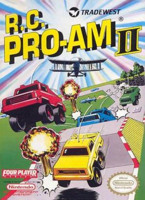 R.C. Pro-Am II sur Nes