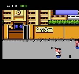 1989 - River City Ransom : Open world et évolution des fighters