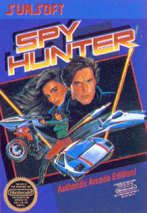 Spy Hunter sur Nes