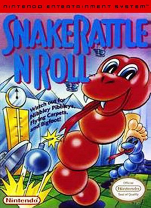 Snake Rattle And Roll sur Nes