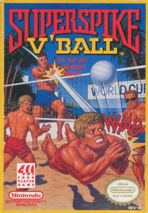 Super Spike V' Ball sur Nes