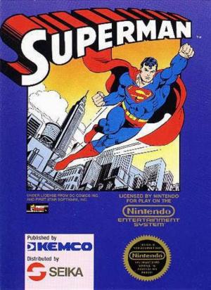 Superman sur Nes