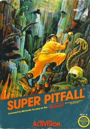 Super Pitfall sur Nes
