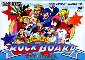 Wily & Right no Rock Board : That's Paradise sur Nes
