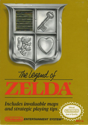 The Legend of Zelda sur Nes