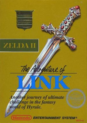 Zelda II : The Adventure of Link sur Nes