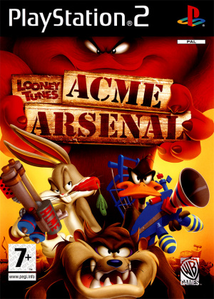 looney tunes acme arsenal sur playstation 2. Black Bedroom Furniture Sets. Home Design Ideas
